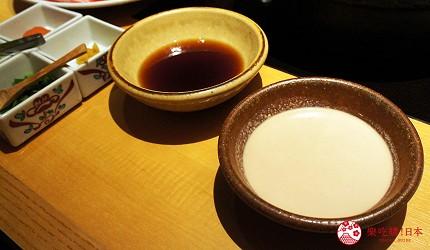 東京美食推薦木曾路涮涮鍋獨門秘製沾醬