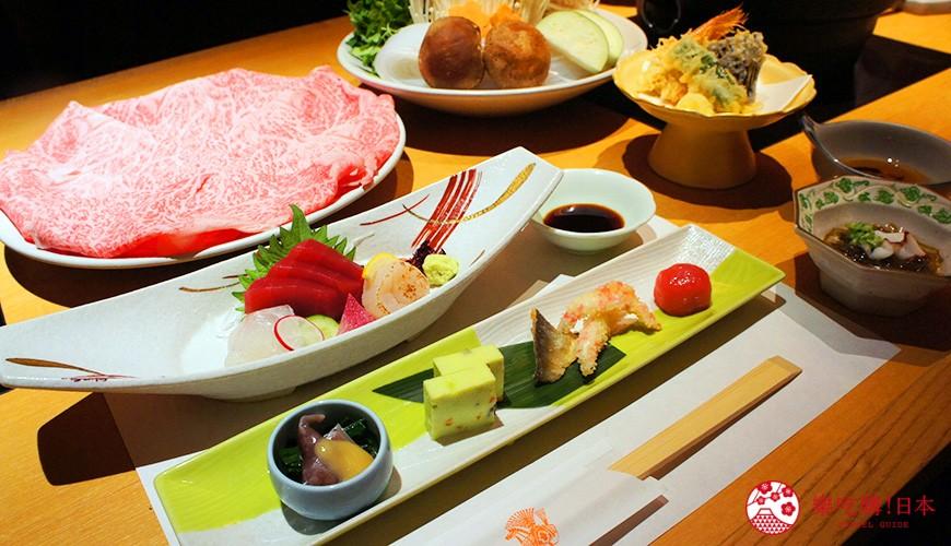 東京新宿木曾路菜單會席套餐「高野槙」