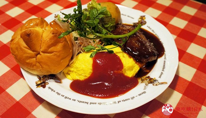 東京極品蛋包飯推薦「RAKERU」:令人無法抗拒的滑嫩美味