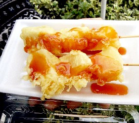 日本關東埼玉縣當地美食料理B級美食小吃味噌馬鈴薯