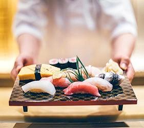 日本關東東京美食料理江戶前握壽司