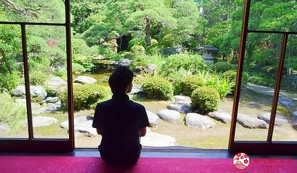 東京柴又老街推薦必去日本庭園「山本亭」的書院式庭園