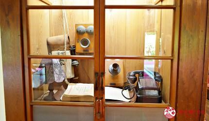 東京柴又老街推薦必去日本庭園「山本亭」內的老式電話