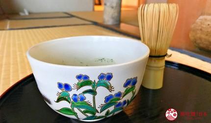 東京柴又老街推薦必去日本庭園「山本亭」的茶道體驗杯子