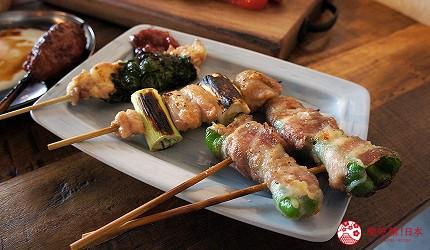 西新宿居酒屋「charcoal grill & bar 我樂多家」料理串燒
