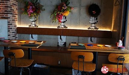 西新宿居酒屋「charcoal grill & bar 我樂多家」店內座位