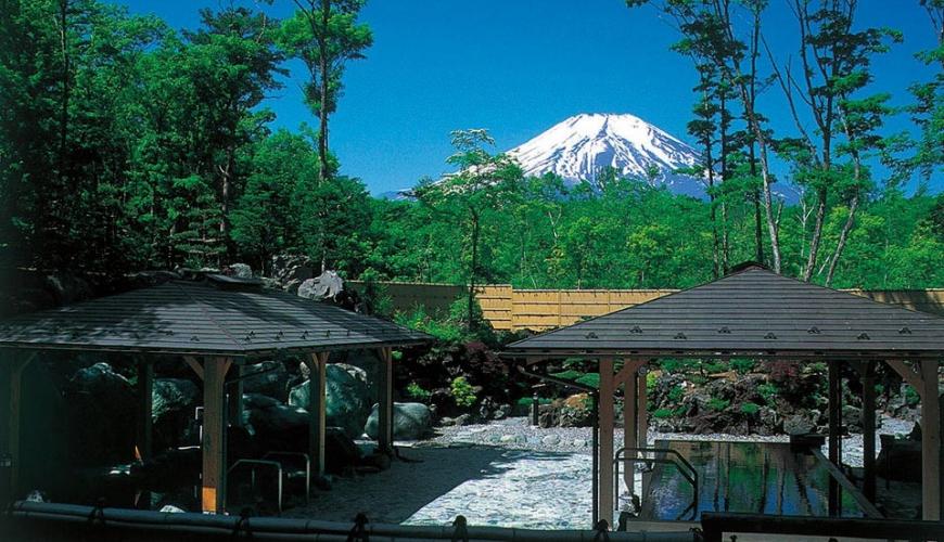 世界遺產富士山露天溫泉