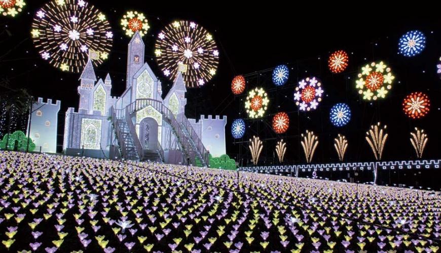 足利花卉公園霓虹燈展
