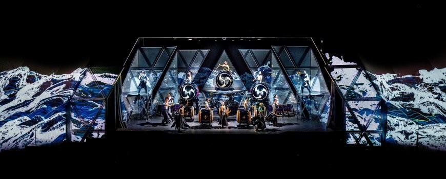 800萬人看過的真人版太鼓達人!和太鼓視覺饗宴「萬華響」2018東京新宿期間限定公演
