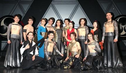 日本和太鼓樂團「DRUM TAO」成員合照