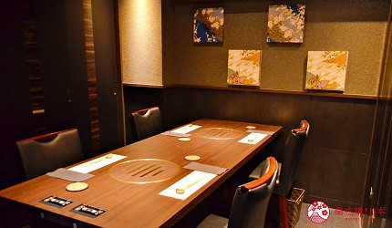 東京高級和牛涮涮鍋推薦新宿歌舞伎町「牛龍」的室內座位