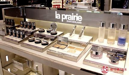 東京樂天免稅店東急廣場銀座化妝保養品牌laprairie專櫃
