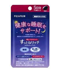 日本藥妝買ASTALIFT(艾詩緹)健康食品推薦「舒爾眠」的5日份包裝
