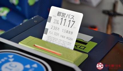 東京都營巴士交通一日券