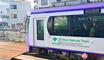 東京都營路面電車都電荒川線列車