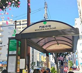 東京自由行景點澄清白河交通都營大江戶線門前仲町地下鐵電車公車