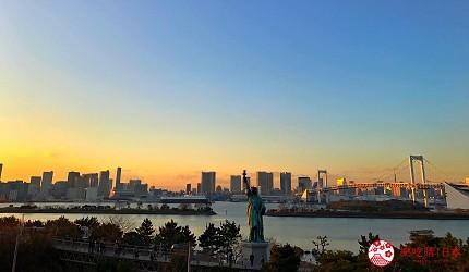 東京自由行景點台場逛街購物「DECKS東京Beach」、「台場AQUA CITY」、鋼彈「Diver City Tokyo Plaza」