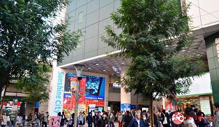 東京池袋百貨公司sunshinecity太陽城