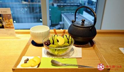 東京澀谷涉谷甜點抹茶hikarie茶庭然花抄院抹茶冰淇淋甜點套餐