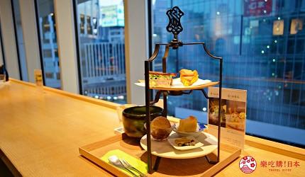 東京澀谷涉谷甜點抹茶hikarie茶庭然花抄院菓樂甜點拼盤