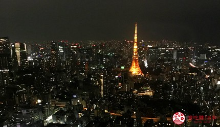 東京六本木東京City View展望台夜景東京鐵塔