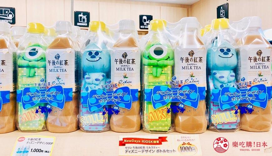 【開箱速報】日本午後的紅茶 X 瓶裝毛怪大眼仔!迪士尼超可愛CP組合不搶就沒了!