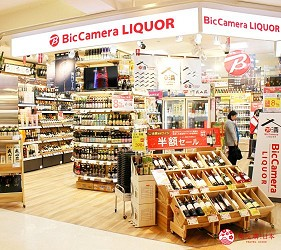 台場景點aqua city逛街購物Air BIC CAMERA酒類