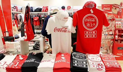 台場景點aqua city逛街購物Coca-Cola Store