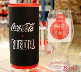 台場景點aqua city逛街購物Coca-Cola Store玻璃杯