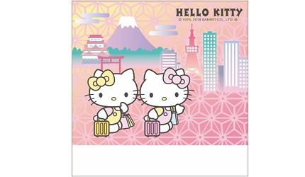 """东京银座三越乐吃购读者来店礼Hello Kitty的和纸便条纸""""width="""
