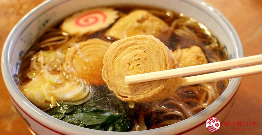 日光東照宮在地人氣美食推薦「魚要」的「湯波蕎麥麵」