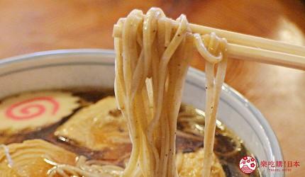 日光東照宮在地人氣美食推薦「魚要」的「湯波蕎麥麵」的蕎麥麵