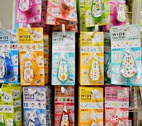 「シモジマ 下岛包装广场 浅草桥本店」贩售的PLUS Deco Rush 花边带