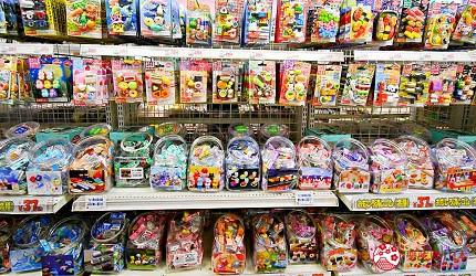 「シモジマ 下岛包装广场 浅草桥本店」贩售的可爱造型橡皮抆