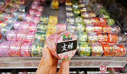 「シモジマ 下岛包装广场 浅草桥本店」贩售的友禅和纸纸胶带