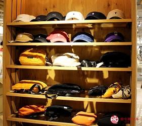 新宿推薦百貨公司「西武新宿PePe」的日本自然系時尚品牌coen(コーエン)的帽子與小包
