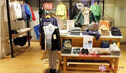 新宿推薦百貨公司「西武新宿PePe」的日式設計結合美式休閒的人氣品牌coen(コーエン)的童裝