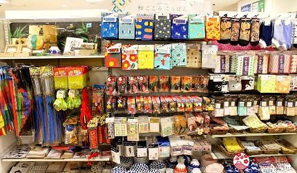 新宿推薦百貨公司「西武新宿PePe」的百元商店Can Do(キャンドゥ)的和風伴手禮