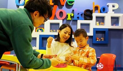 東京親子自助景點樂高樂園台場設施創意工作坊樂高積木組裝