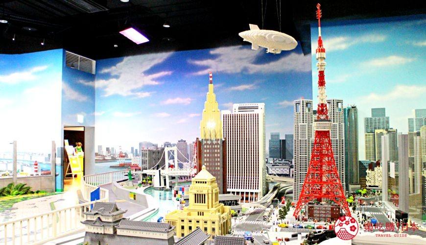 東京親子自助景點樂高樂園台場設施迷你島