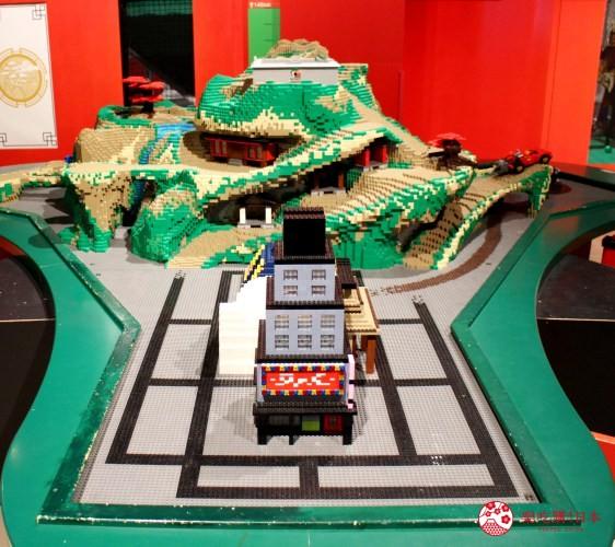 東京親子自助景點樂高樂園台場設施忍者GO城市冒險