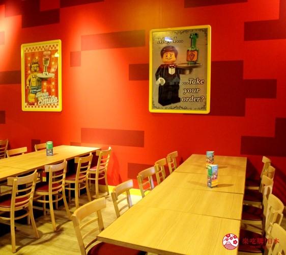 東京親子自助景點樂高樂園台場設施飲食區