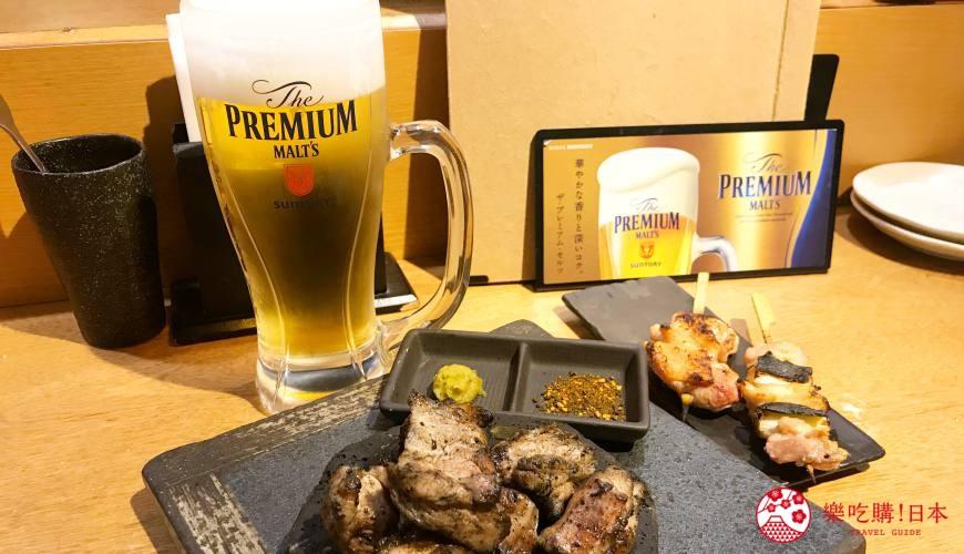 新宿居酒屋「鳥どり 総本家」品嚐極致雞肉料理,再享SUNTORY「The Premium Malt's」首杯免費喝!