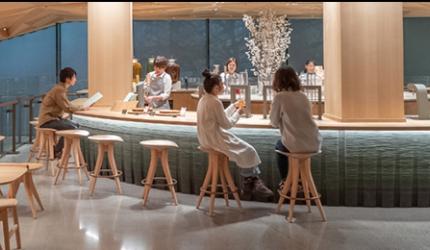 隈研吾設計東京中目黑「星巴克臻選®東京烘焙工坊」二樓「TEAVANA」