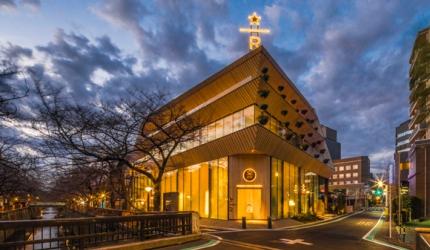 東京中目黑「星巴克臻選®東京烘焙工坊」的外觀