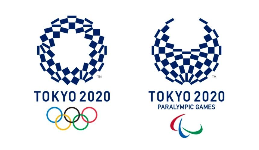 2020東京奧運與帕運的會徽圖