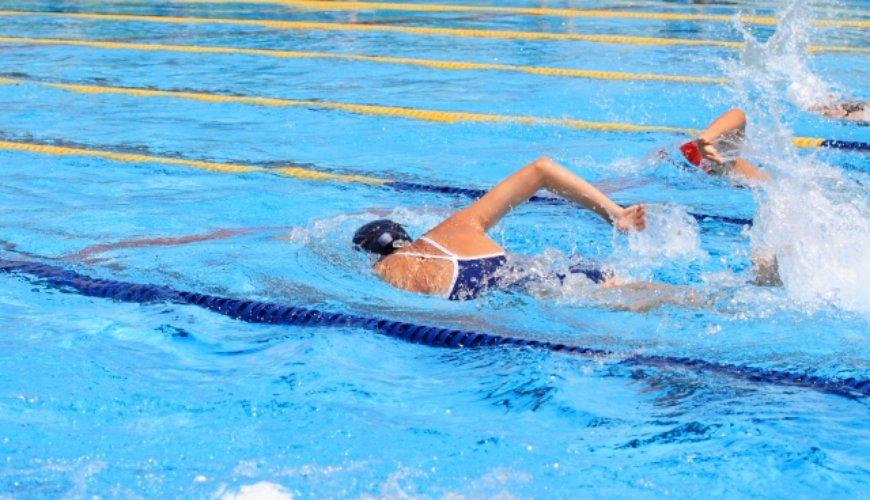 2020東京奧林匹克運動項目日語教學的游泳(水泳)形象圖