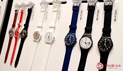 台場購物中心aquacity購物手錶SWATCH