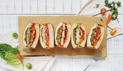 台場購物中心aquacity美食健康輕食NORTHSHORE CAFE & DINING