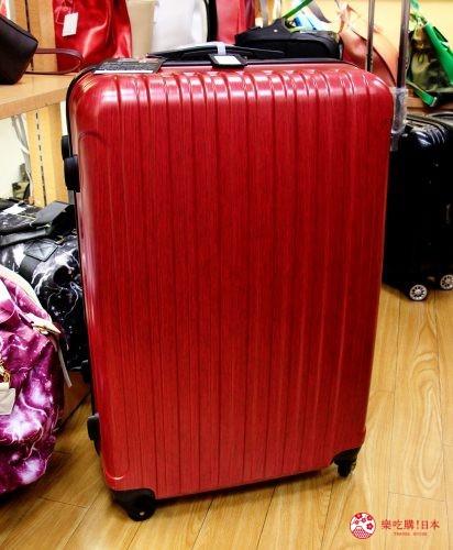 东京银座人气行李箱、包包专卖店「Ginza Karen」的28吋行李箱